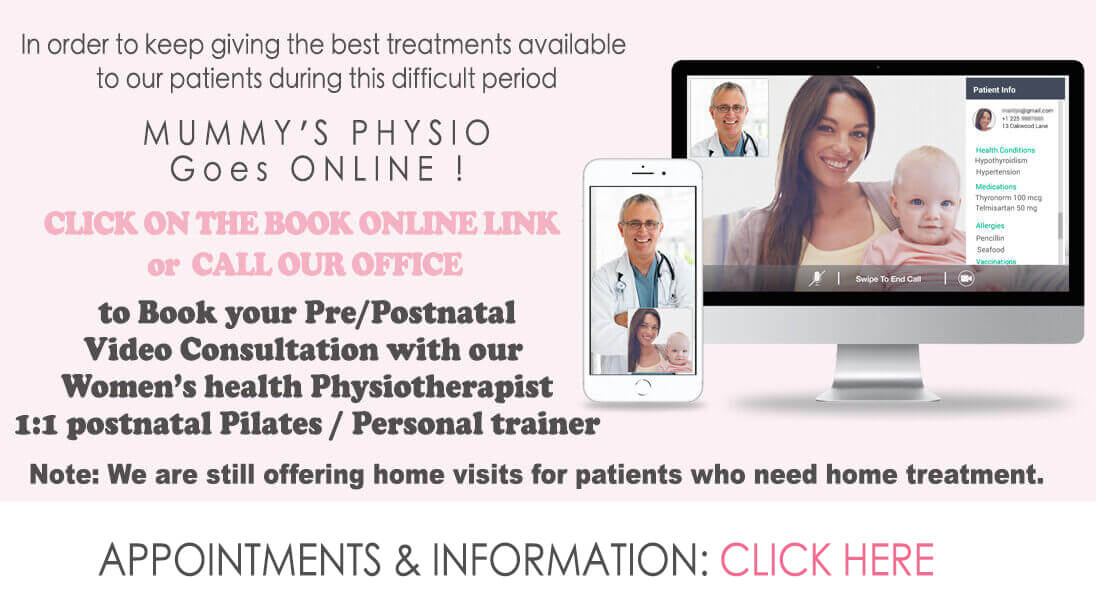 women's health physio onlince consultation